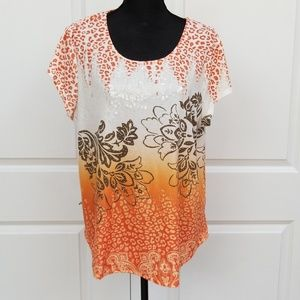 Chico's women's shirt with sequins